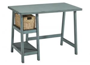 Teal Mirimyn Home Office Small Desk