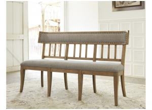 Gray Ollesburg Upholstered Bench