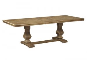 Brown Ollesburg Rectangular Dining Room Extension Table Base