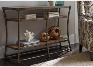 Light Brown Nartina Sofa Table