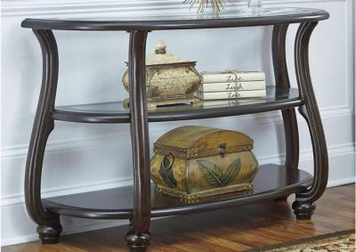 Dark Brown Yexenburg Sofa Table